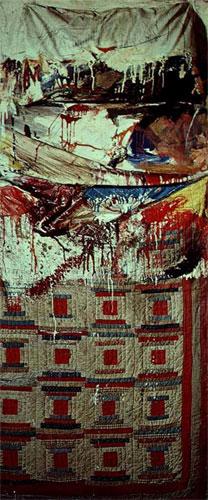 Коллаж «Кровать», 1995 год
