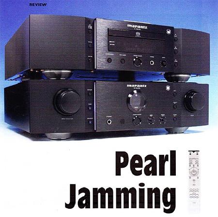 Marantz KI Pearl CD-плеер и PM-KI усилитель