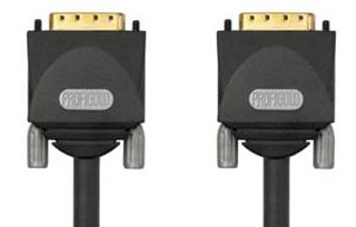 Кабели : PGM 1410 PROFIGOLD DVI  Monitor Cable - 2xDVI-D male Dual Link - 10.0m
