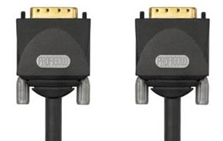 Кабели : PGM 1415 PROFIGOLD  DVI Monitor Cable - 2xDVI-D male Dual Link - 15.0m