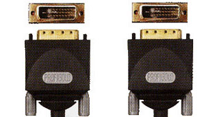 Кабели : PGM 1420 PROFIGOLD DVI  Monitor Cable - 2xDVI-D male Dual Link -  20.0m
