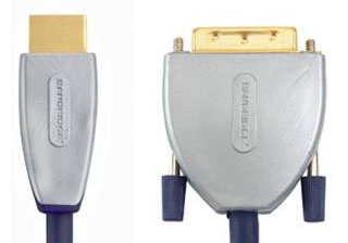 Кабель: SVL1102 BE PRE  HDMI - DVI Cable HDMI male to male 2.0 m