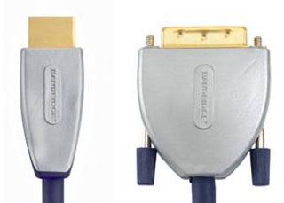 Кабель: SVL1103 BE PRE  HDMI - DVI Cable HDMI male to male 3.0 m
