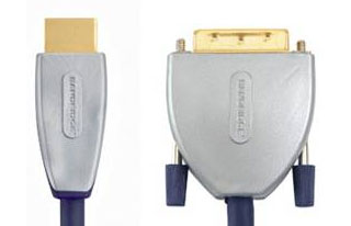 Кабель: SVL1105 BE PRE  HDMI - DVI Cable HDMI male to male 5.0 m