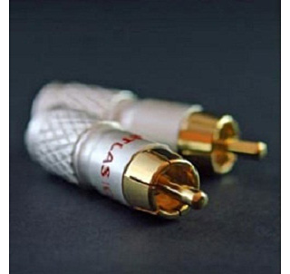 Фото товара Коннекторы: Atlas RCA Plug 8.5 mm Cross Hatch Design
