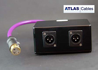 Фото товара Коммутационный коллектор: Atlas 3 Way XLR Junktion Box