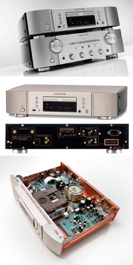 CD/SACD плеер: Marantz SA KI Pearl Light (Silver Gold)