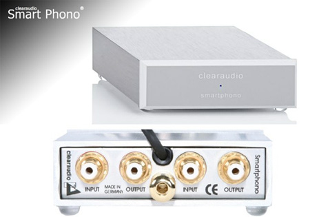 Фонокорректор: Clearaudio Smart Phono MM and MC;  EL 016/230