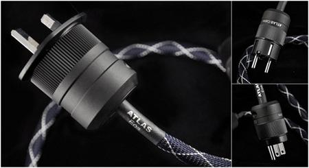 Фото товара Кабель силовой: Atlas EOS MK II 2sqmm Rhodium Schuko - IEC 1 m