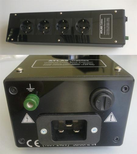 Фото товара Сетевой фильтр: Atlas 4 Way Extension Unit Schuko 16amp Power Cord