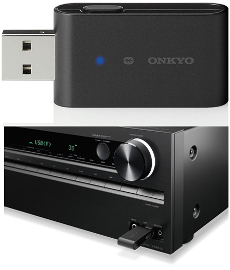 Беспроводной Bluetooth  USB адаптер: Onkyo UBT-1