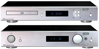 Hi-Fi комплект: CREEK EVO CD (Silver) + Стерео усилитель: CREEK EVO AMP  (Silver)