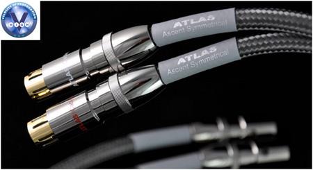 Фото товара Кабель межблочный: Atlas Ascent Symmetrical (XLR-XLR) 1m