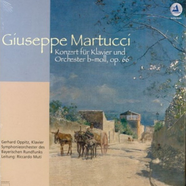 Giuseppe Martucci – Concert for piano and orchestra b-Moll op.66 (LP 83052, 180 gr.) Germany, Mint