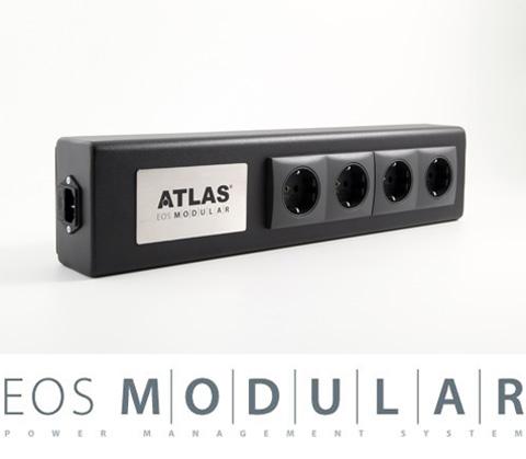 Фото товара Сетевой фильтр: Atlas EOS Modular 3F1U Schuko