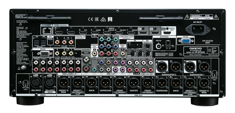 Фото № 3 товара AV Процессор: Onkyo PR-SC 5530 Black