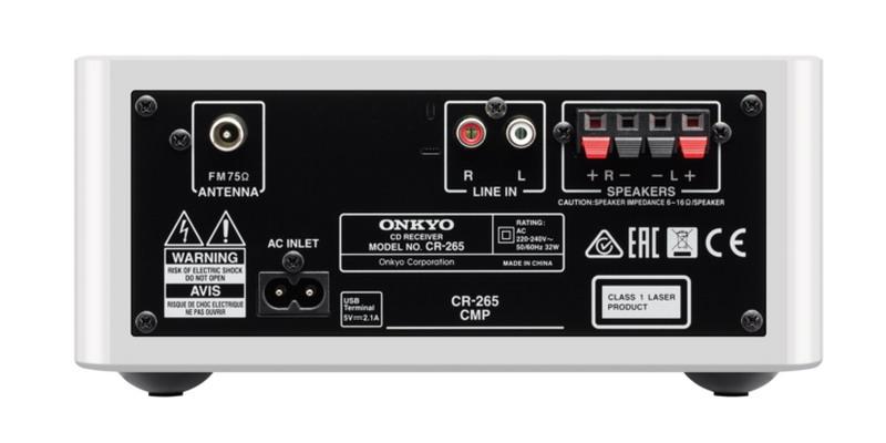 Фото № 6 товара CD-мини система с Bluetooth: Onkyo CS-265  Black