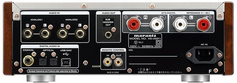 Фото № 6 товара Стерео усилитель с ЦАП: Marantz HD-AMP1 (Black)