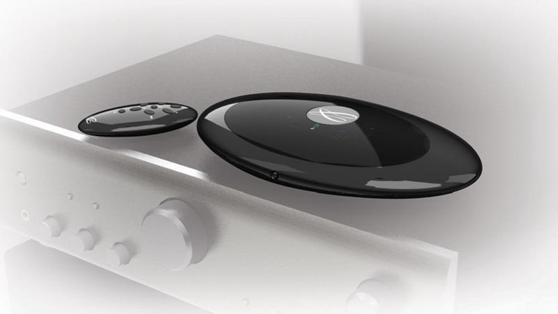Фото № 2 товара Медиаплеер сетевой / Audiophile USB-DAC: Cabasse Stream Source Glossy Black