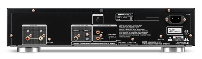 Фото № 6 товара CD плеер: Marantz CD6006 Black