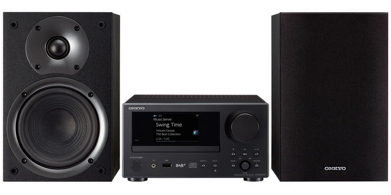 Сетевая MultiRoom CD-мини система: Onkyo CS-N575D Black