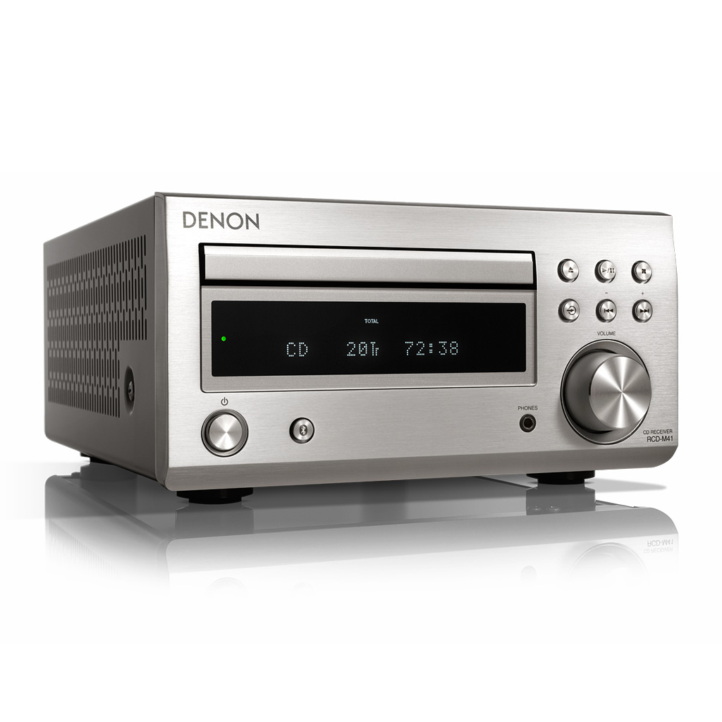Фото № 2 товара CD-ресивер с Bluetooth: Denon RCD-M41 Black