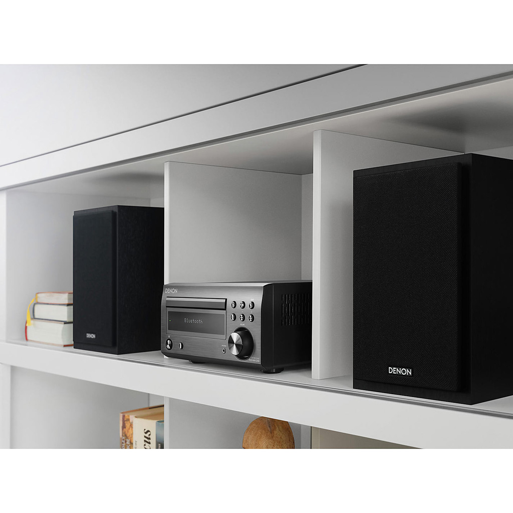 Фото № 3 товара CD-ресивер с Bluetooth: Denon RCD-M41 Black