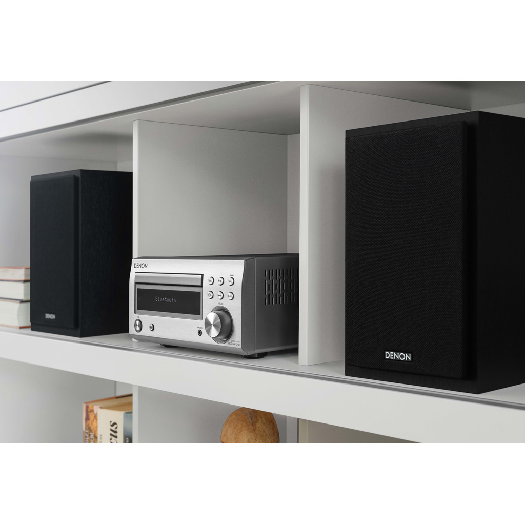 Фото № 4 товара CD-ресивер с Bluetooth: Denon RCD-M41 Black