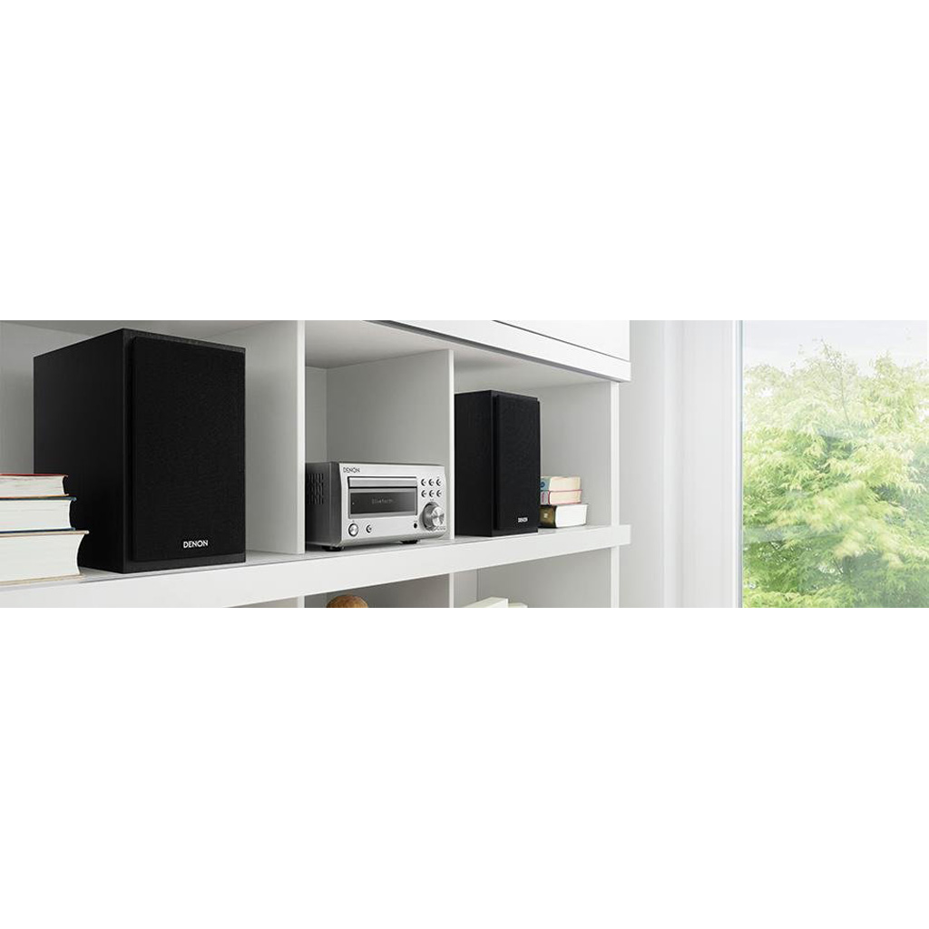 Фото № 7 товара CD-ресивер с Bluetooth: Denon RCD-M41 Black