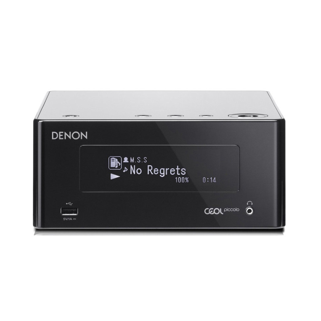 Фото № 4 товара Сетевой ресивер с Wi-Fi/AirPlay/Bluetooth: Denon CEOL Piccolo DRA-N4 Black+ DALI  Zensor 1