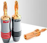 Банан: Real Cable (B 7210) до 8мм.кв. зажимной