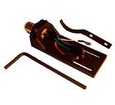 Площадка для крепления головки звукоснимателя к тонарму: Tonar Headshell SME-Type TOP Q, art. 4420