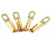 Коннекторы для соединения фоно кабеля с картриджем: Tonar Gold Plate Terminal PIN Plugs art 4613
