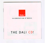 Тестовый CD: DALI CD Volume 2