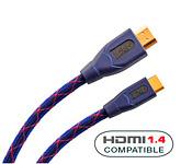 Кабель HDMI:Real Cable EHDMI (HDMImini  - HDMI) HDMI 1.4 3D High Speed 2 M00