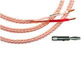 Кабель акустический: Kimber Kable 12 TC 8 F 2.4 m  Bi-Wiring с бананами SBAN