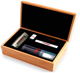 Коплект для ухода за пластинками и проигрывателями: Thorens Cleaning Set in Wooden Box