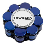 Прижим (клэмп) для пластинок: Thorens Stabilizer Blue in Wooden Box
