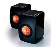 Акустическая пара: KEF LS50 High gloss piano black