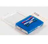 Комплект кабелей для крепления картриджа: Tonar Headshell Wire Cu-Litz OFC, art. 5970
