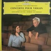 Ludwig van Beethoven - Violin Concerto (Deutsche Grammophon 2531250, 180 gram vinyl) Germany, Mint