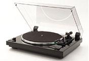 Проигрыватель виниловых дисков: Thorens TD-240-2 (Made in Germany) Black structured enamel