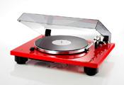 Проигрыватель виниловых дисков: Thorens TD 206 (Made in Germany) High gloss Red