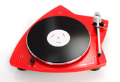Проигрыватель виниловых дисков: Thorens TD 209 (Made in Germany) High gloss Red