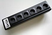 Высококачественный сетевой удлинитель: Atlas EOS Modular 0F6U Schuko