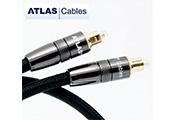 Кабель межблочный цифровой оптический: Atlas Mavros Glass Fibre Optic  (toslink-toslink) 1m