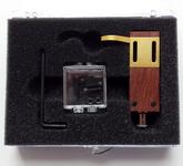 Площадка для крепления головки звукоснимателя: TONAR Rosewood shell with silver wires, art. 5327