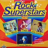 V / A – ROCK SUPERSTARS Vol.1 (Incl. J. COCKER, T-REX…) 197?(SHM 957)  PICKWICK/ENG. EX/NM