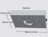 Корпус: Back Box for Archipel 13 & 17